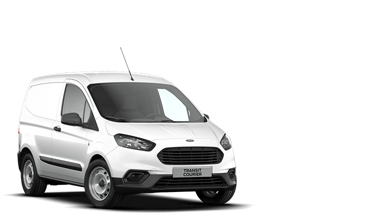 Nuovo Ford Transit Courier bianco