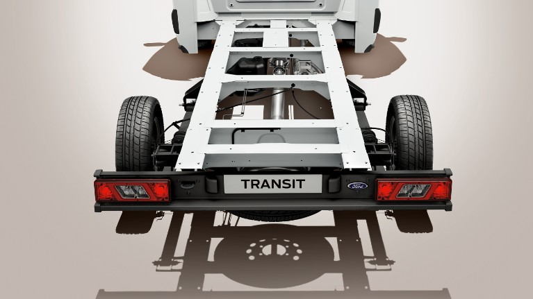 Ford Transit Chassis tecnologia