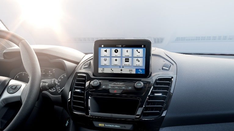 Ford Tourneo Connect touch screen