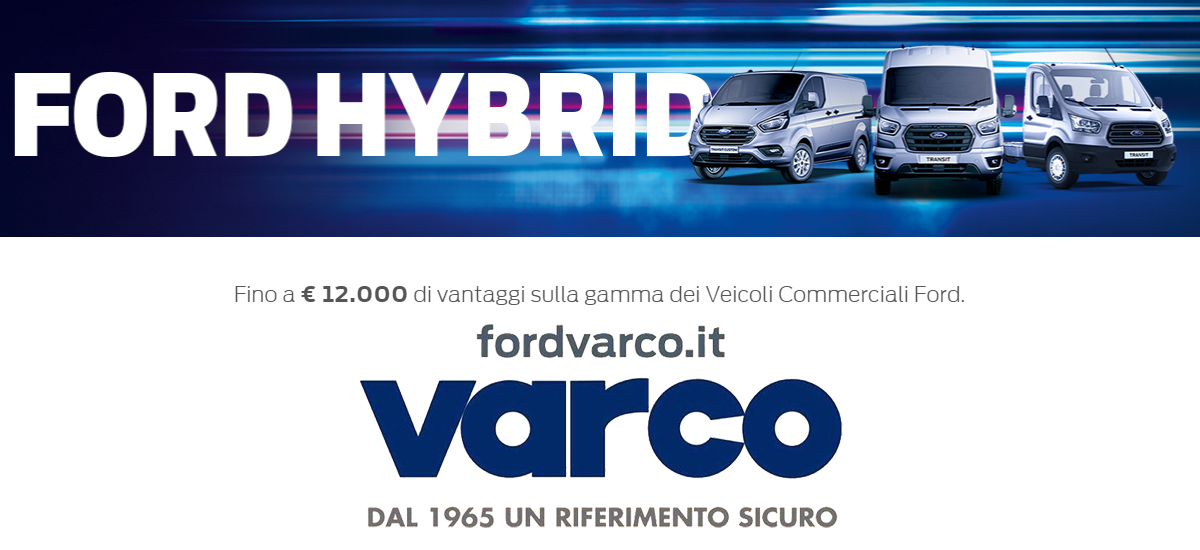 COMMERCIALI BANNER FORD
